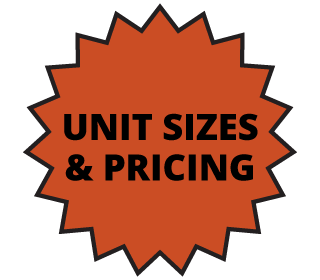 Unit Sizes & Pricing